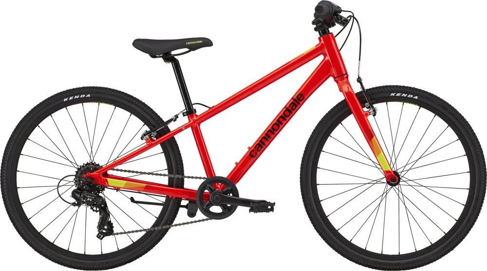 Cannondale Kids Quick 24 Boy's 24  Acid Red